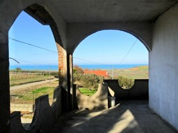 Open, long sea views from this 300sqm house on two floors