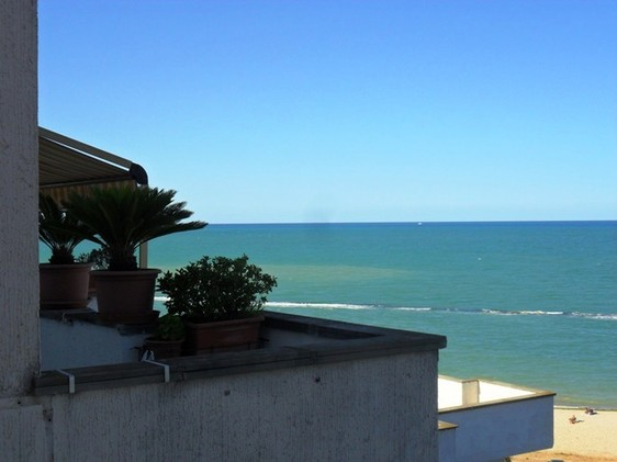 finished beach apartment, 300 meters to water, with open sea views1