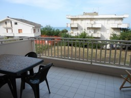 Sea view, 400 meters to sea, one bed finished apartment