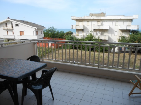 Sea view, 400 meters to sea, one bed finished apartment 1