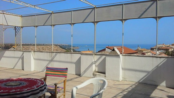 A unique appartment overlooking the town of San Vito with the adriatic sea as a backdrop and open mountain views. 2
