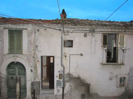Apartment in the historic center of Casoli.