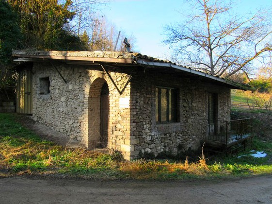An isolated, stone mill over a fast running stream with 1 bed, garden and plenty of character.
